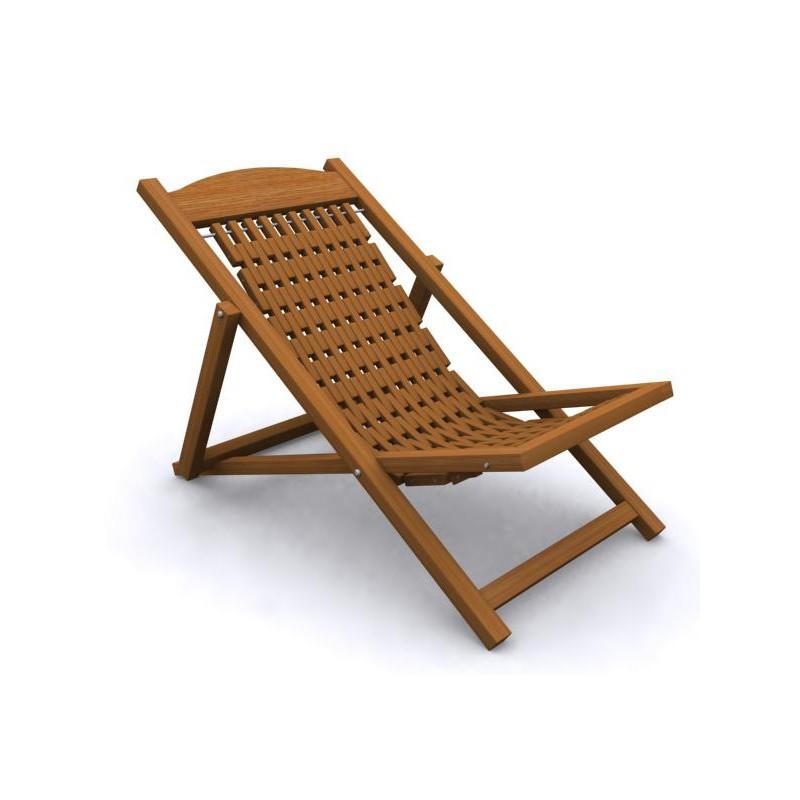 baf86730b36 Easy Chair Folding Easy Chair - Wood