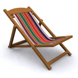 Folding Easy Chair   Cloth