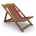 Folding Easy Chair - Cloth