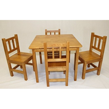 Wooden Kids Table Set